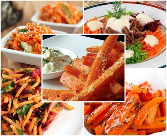 морковь, сырая морковь