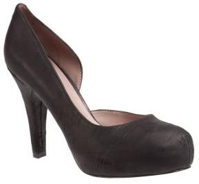 Черно-белые мужские туфли
