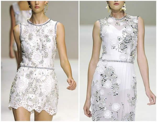 Белые платья короткие вечерние