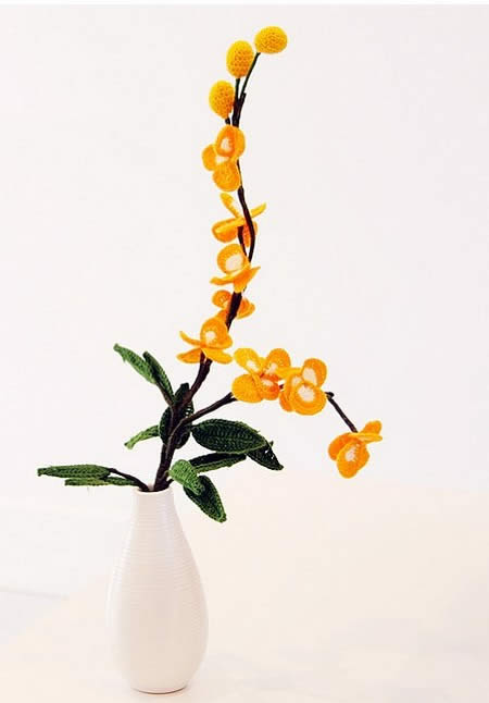 связать цветок крючком для начинающих. как связать цветы крючком, схемы...