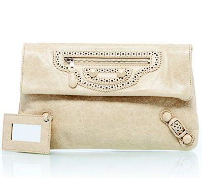 Вalenciaga, бежевая сумка, модная сумка, клатч