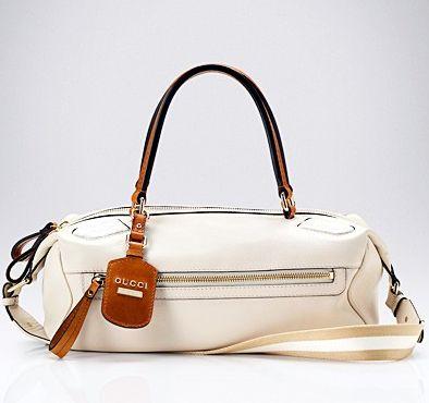 Gucci, спортивная сумка, бежевая сумка